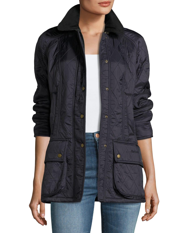 Beadnell Jacket in Diamond Polarquilt