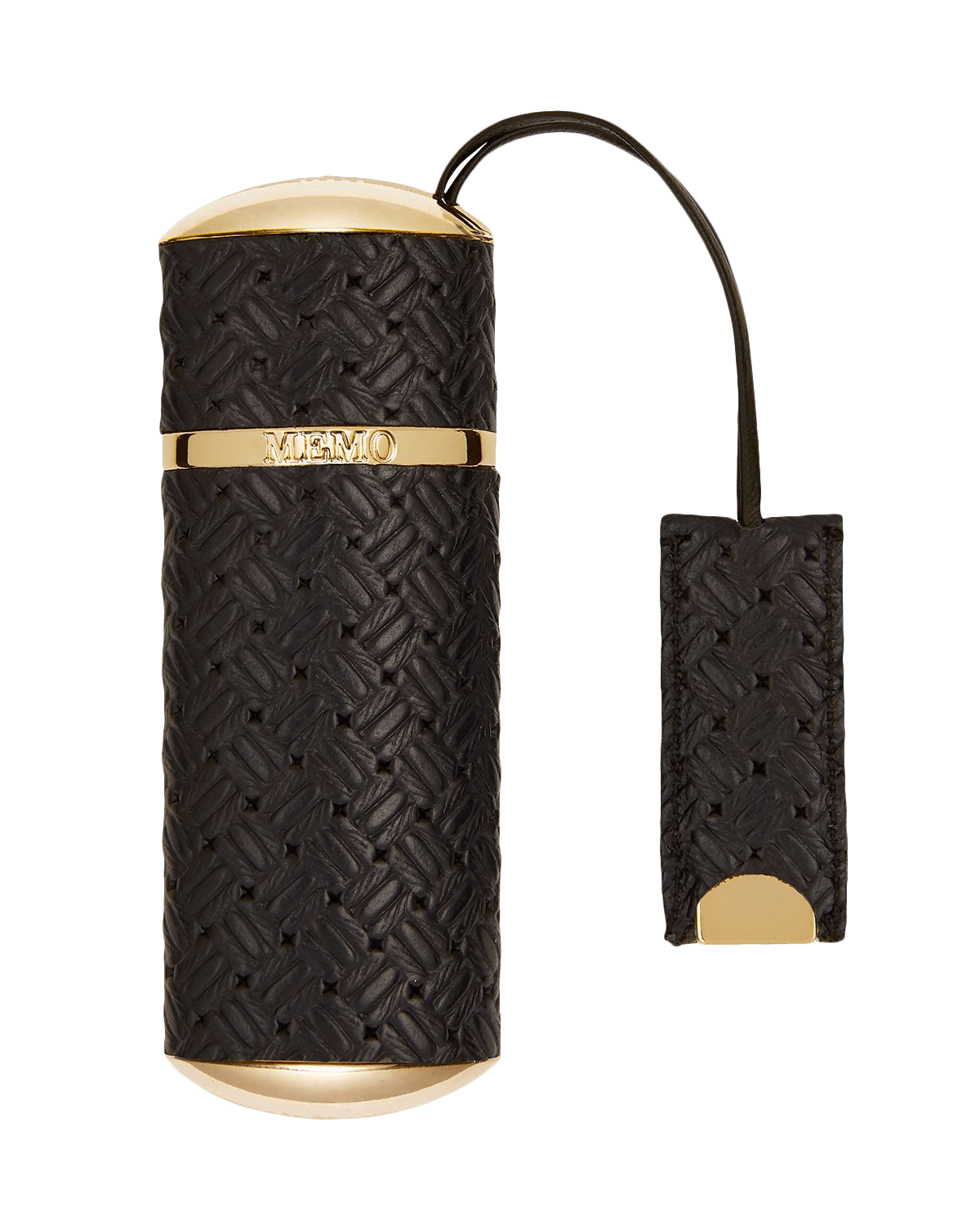 Navy Knitted Refillable Travel Case