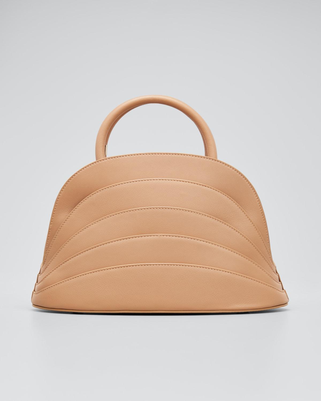 Millefoglie J Layered Top Handle Bag