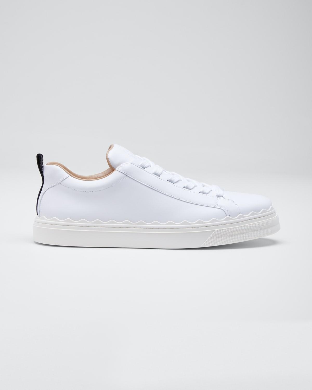 Lauren Low-Top Leather Sneakers