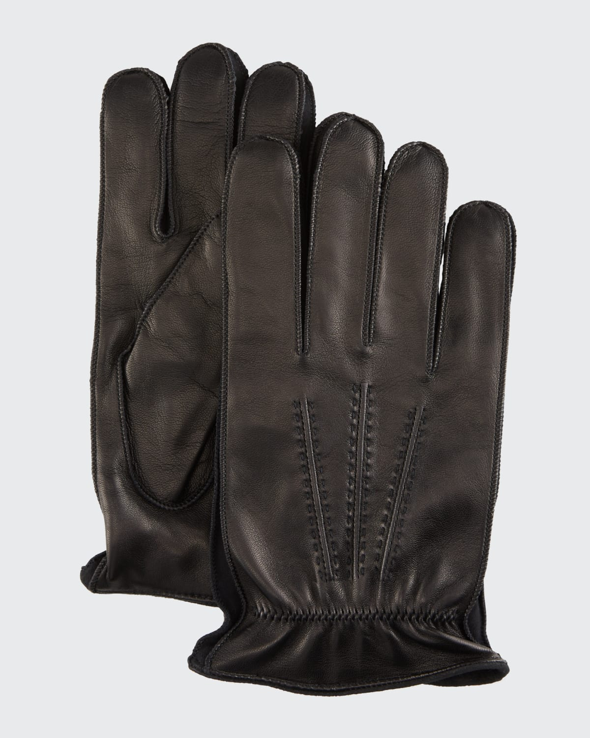 Men's Leather/Suede Gloves with Cashmere Lining