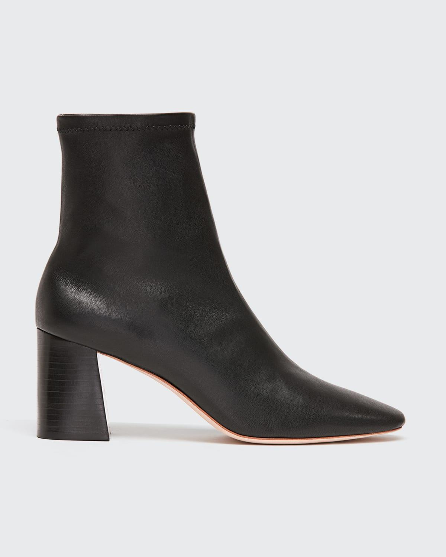 Elise Napa 75mm Slim Ankle Booties