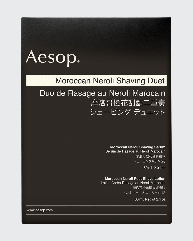 Moroccan Neroli Shaving Duet
