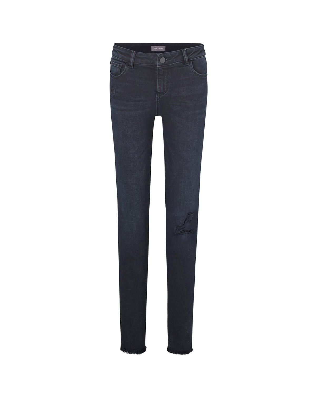 Girl's Chloe Skinny Distressed Denim Jeans