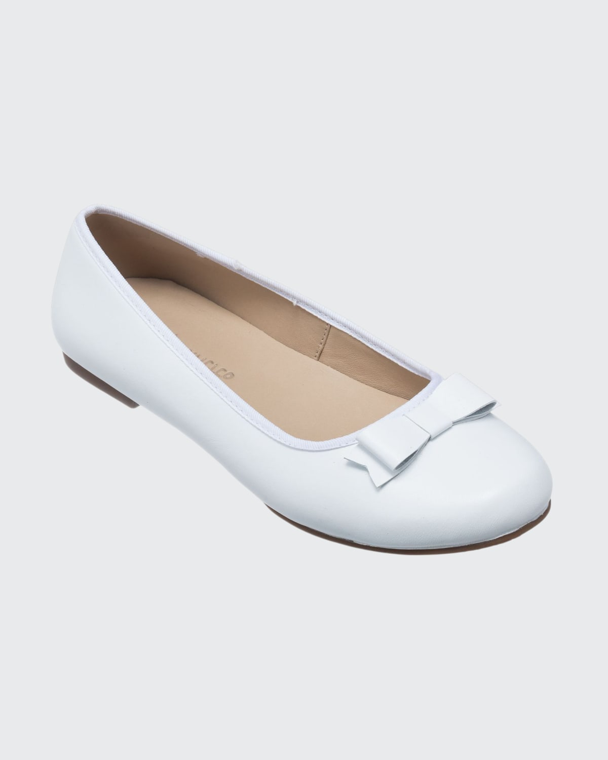 Camille Metallic Leather Flats