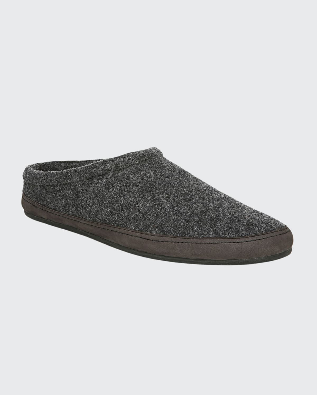 Men's Howell Knitted Wool Mule Slipper