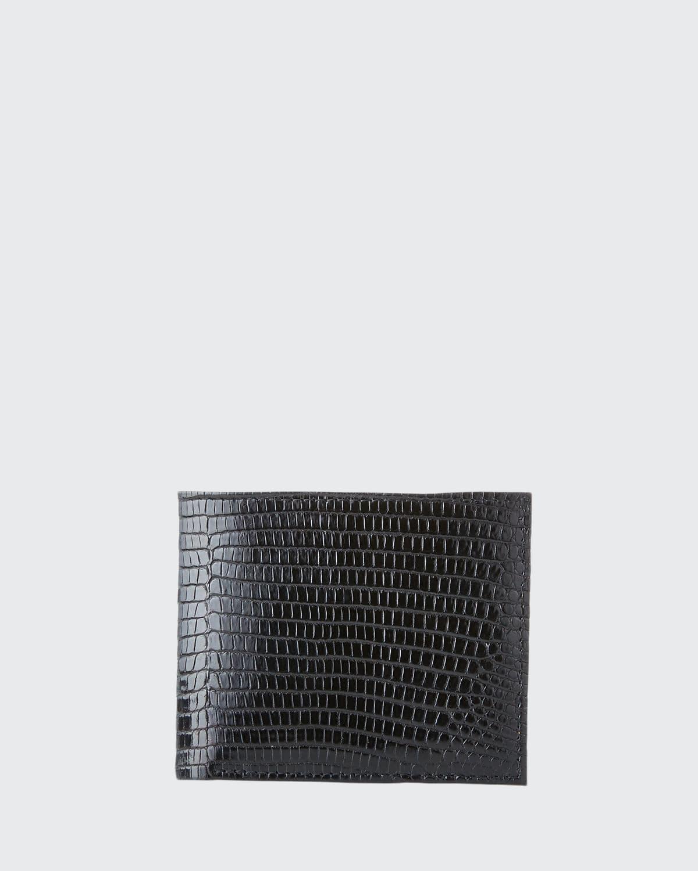 Men's Lizard Continental Wallet