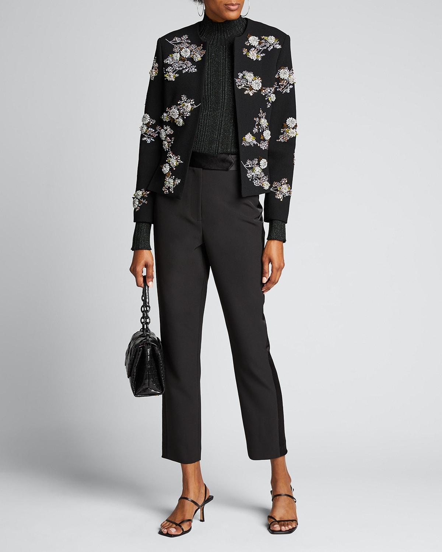 Twilight Garden Collarless Jacket