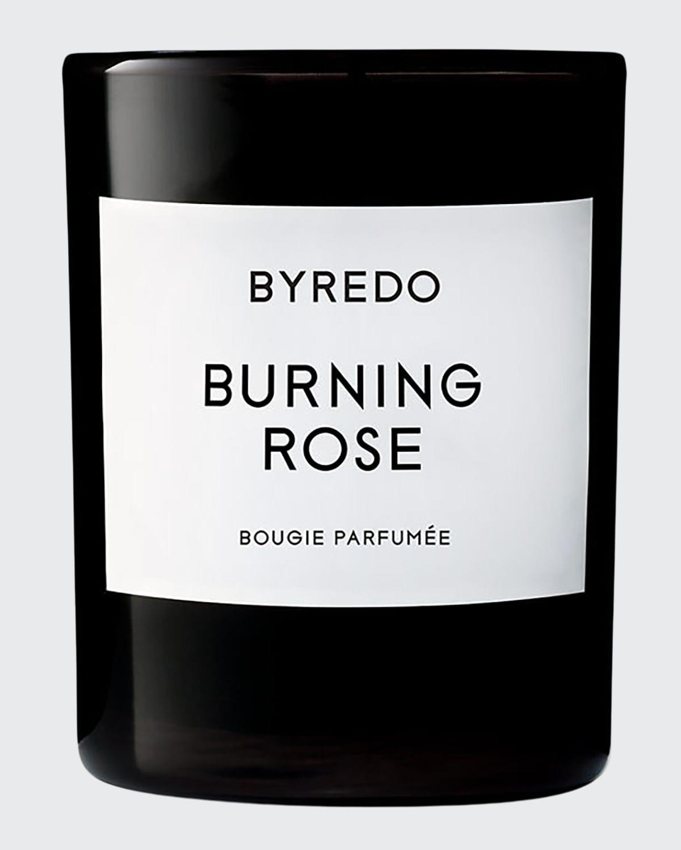6.7 oz. Burning Rose Candle