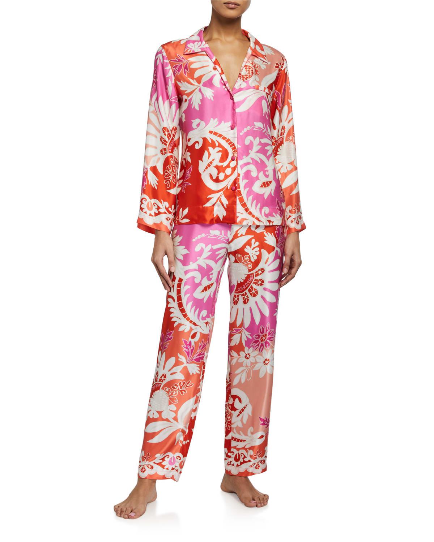 Mantilla Scroll Pajama Set