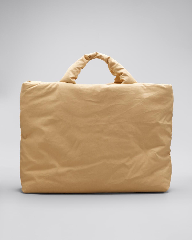 Large Oil Canvas Shopper Tote Bag