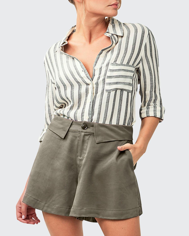 Mira Striped Blouse