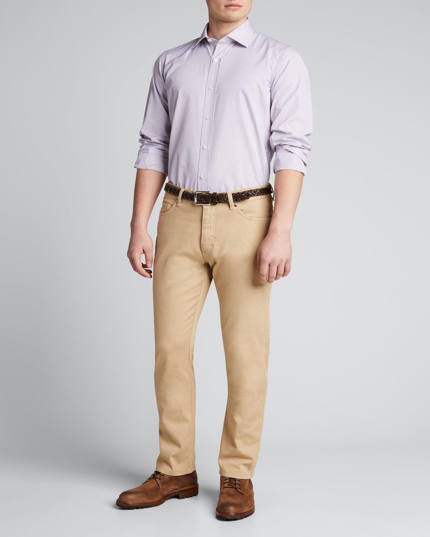 Men's Multi-Check Dress Shirt