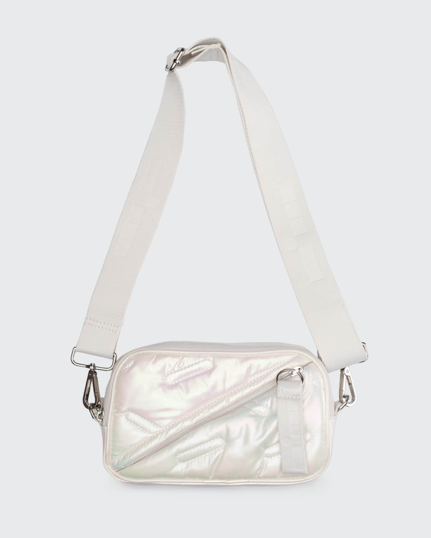 Convertible Iridescent Fanny Pack Bag