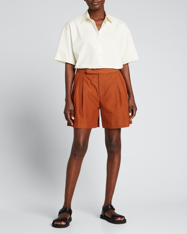 Veronique Pleated Shorts