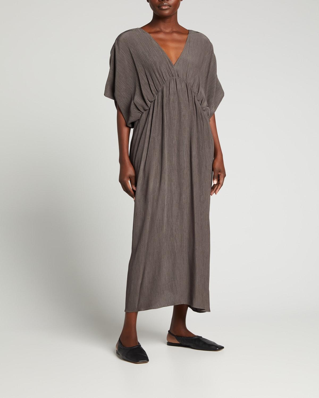 Ava V-Neck Knotted Dress