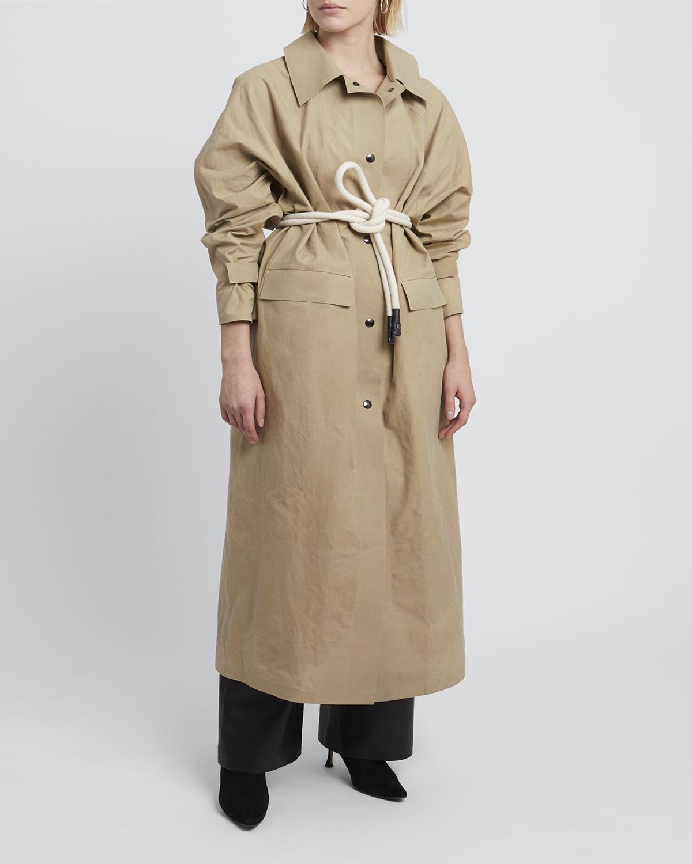 Original Matte Wax Coat in Beige