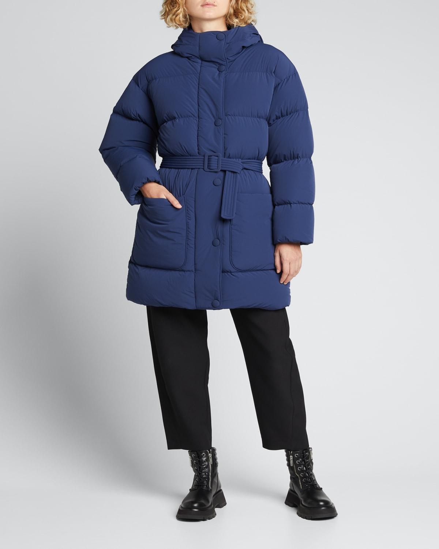 Killer Oversized Hooded Puffer Coat