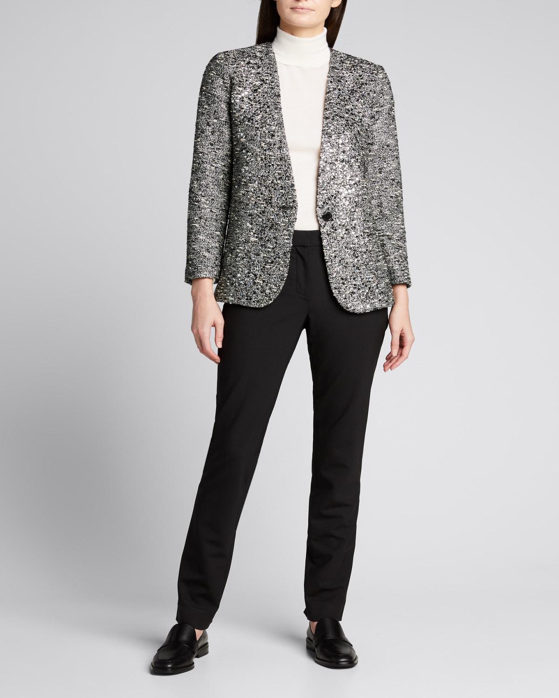 Sparkle Tweed Crystal Blazer