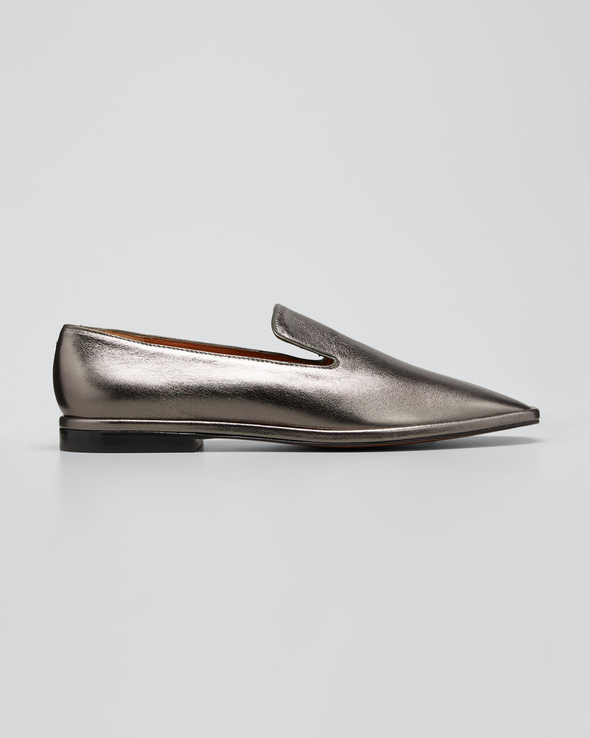Olympia Leather Smoking Loafers