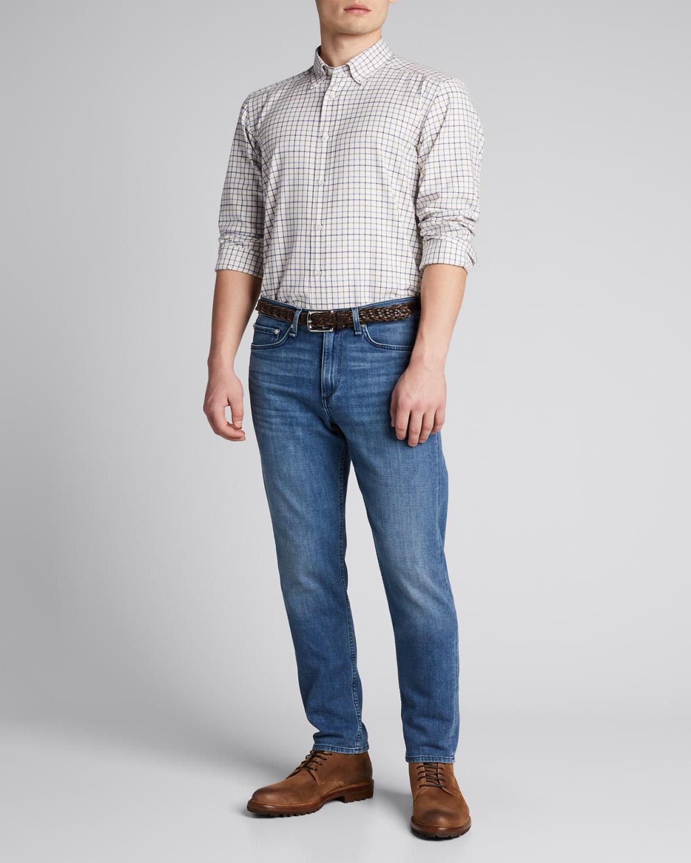 Men's Multi-Windowpane Sport Shirt
