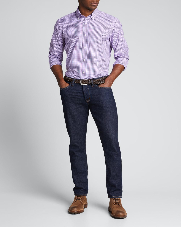 Men's Multi-Check Sport Shirt