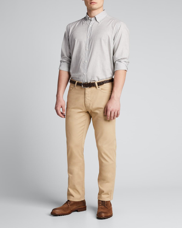 Men's Gingham Sport Shirt