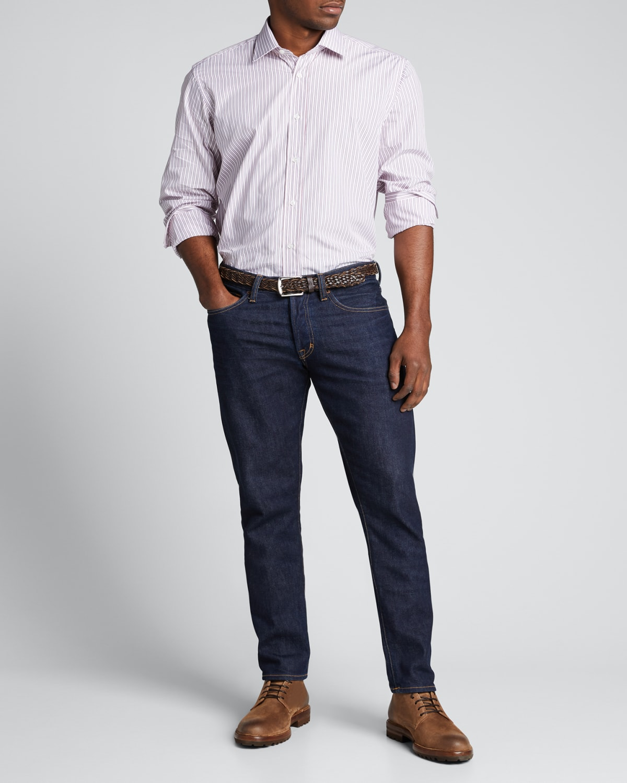 Men's Multi-Stripe Dress Shirt