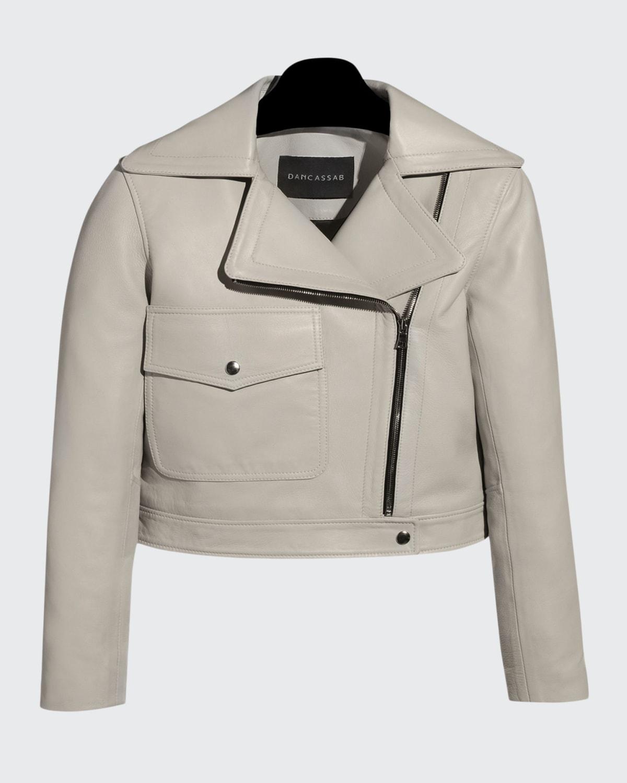 Juliet Lamb Leather Moto Jacket
