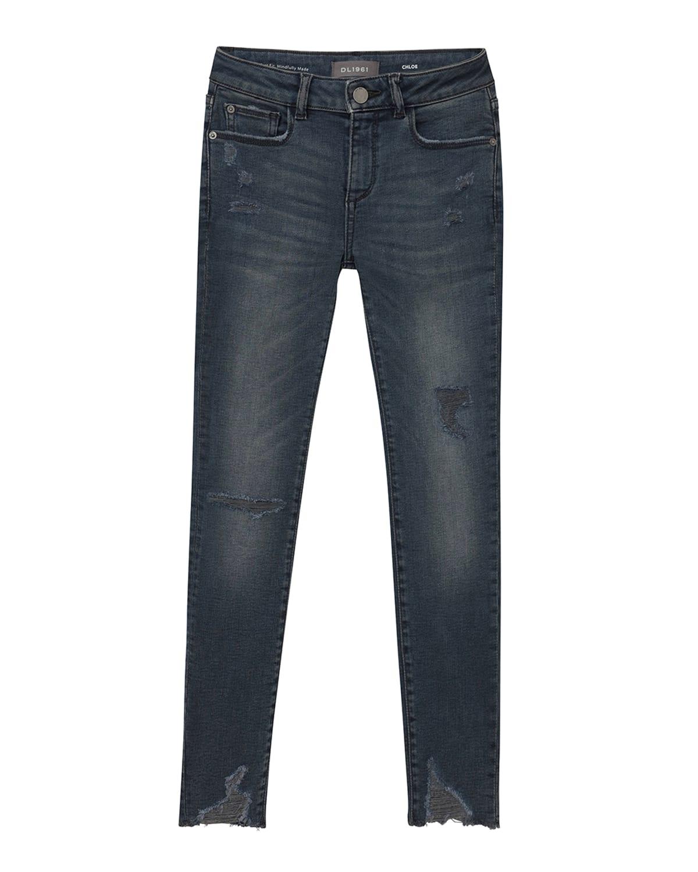 Girl's Chloe Distressed Skinny Jeans
