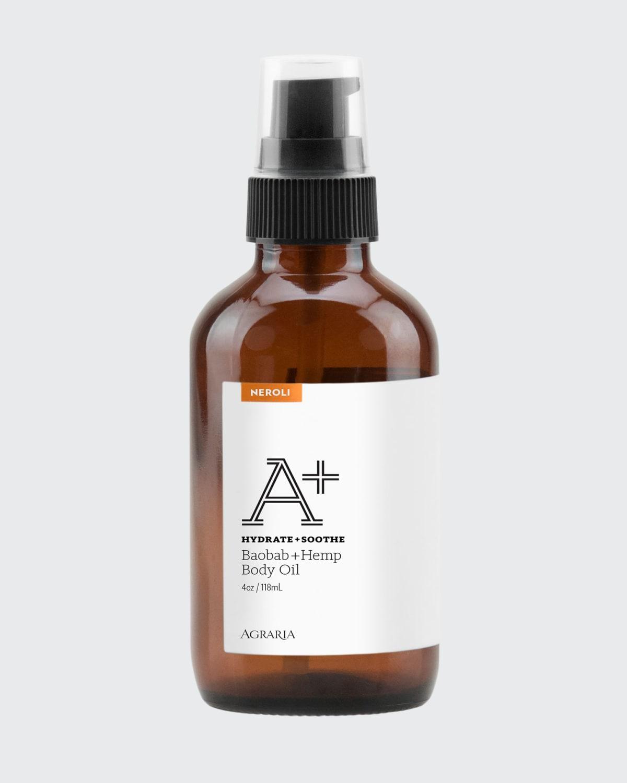 Neroli A+ Baobab + Hemp Body Oil