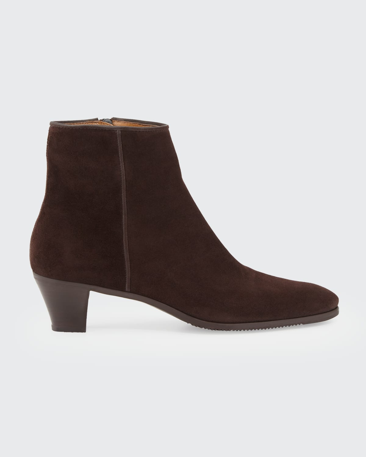 Kid Suede Ankle Boots