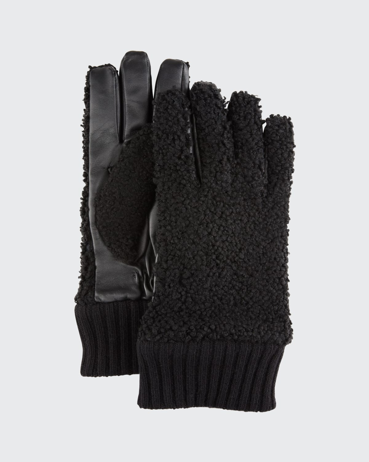 Men's Shearling/Napa Leather Gloves