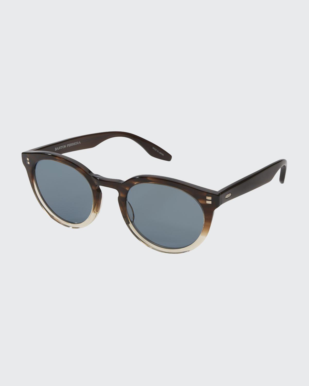 Men's Rourke Acetate Cat-Eye Sunglasses
