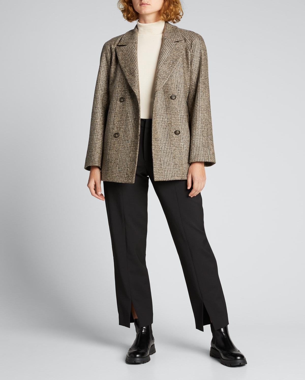 Georgia Plaid Belted Jacket