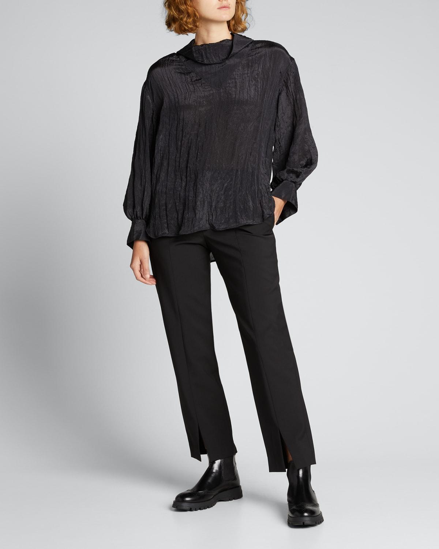 Piper Front-Slit Pants