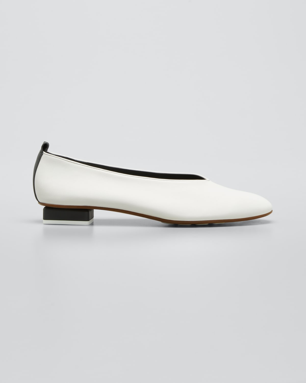 Mildred Leather Slip-On Loafers