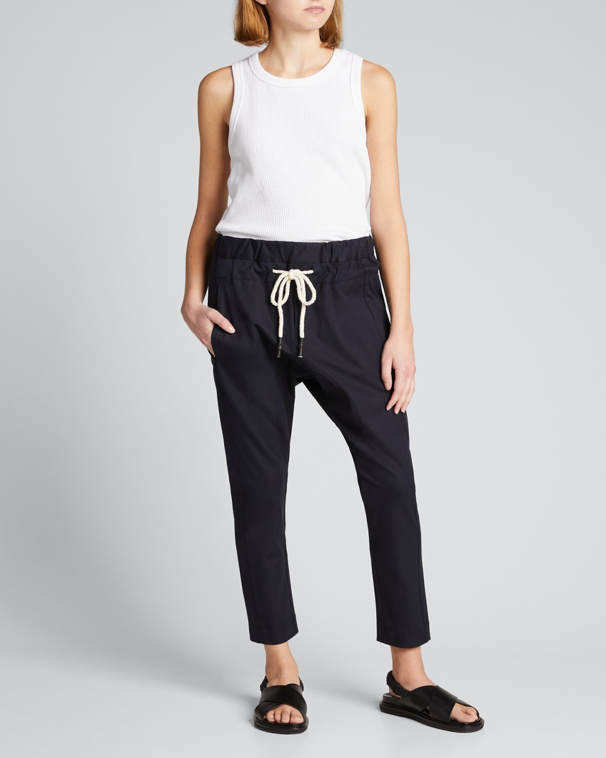 Relaxed Stretch Twill Pants