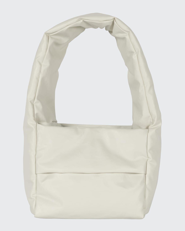 Monk Oil Small Padded Shoulder Bag