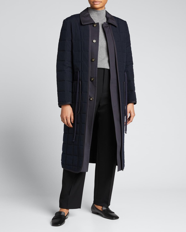 Eden Long Quilted Coat