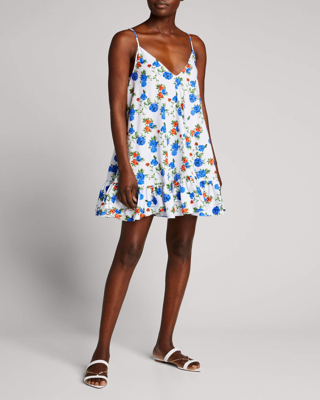 Laurel Flounce Mini Dress