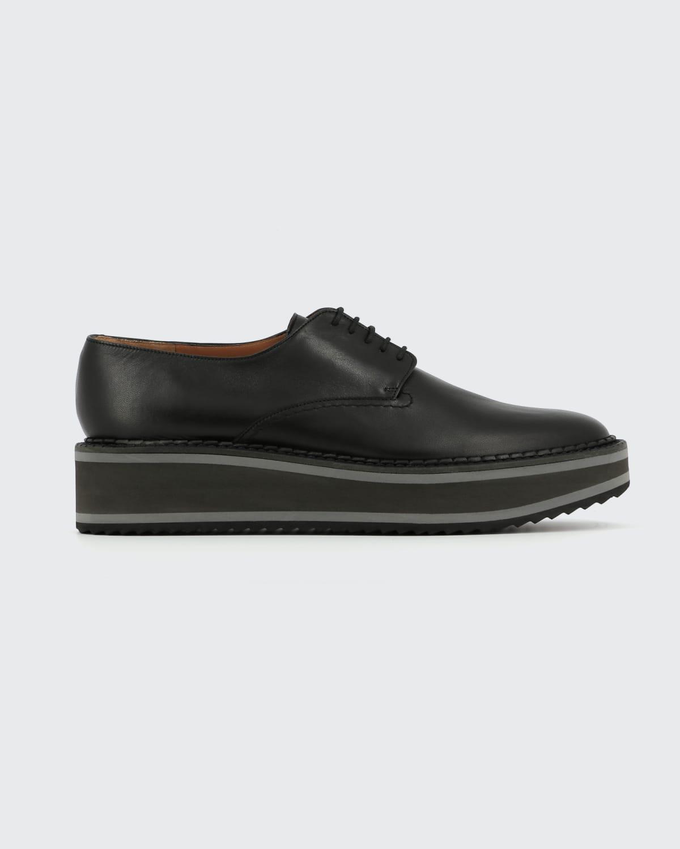 Brook Leather Platform Derby Loafers