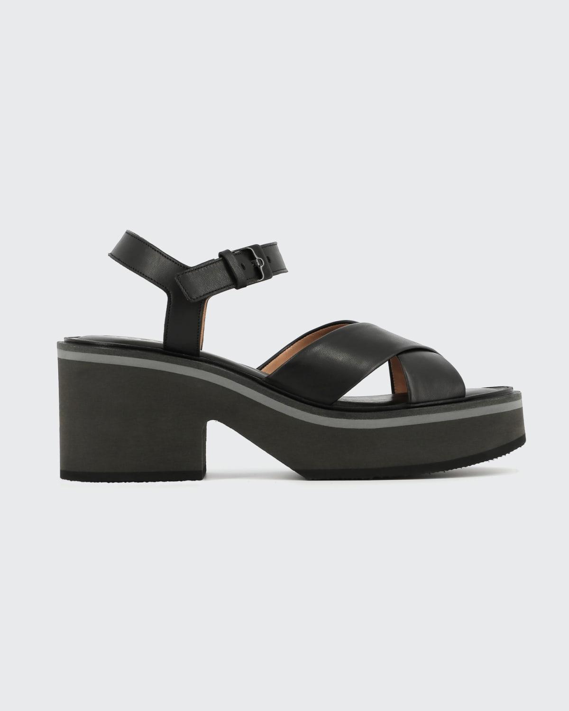 Charline Crisscross Platform Sandals