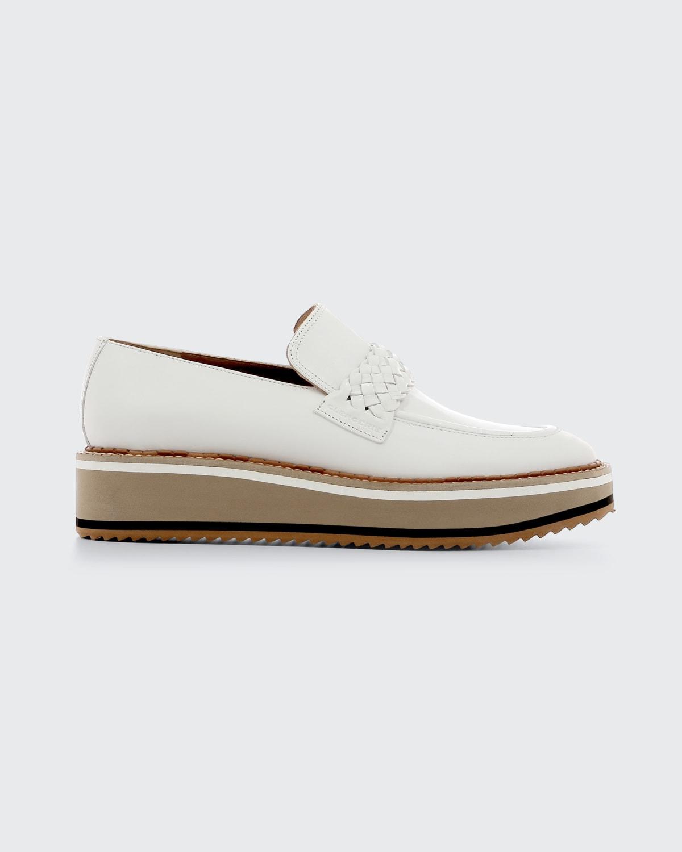 Baldie Leather Platform Loafers