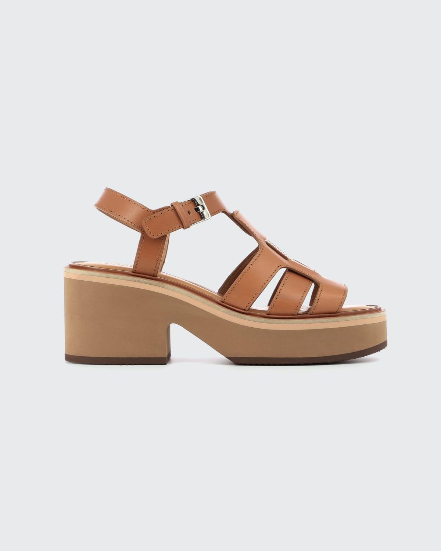 Clea T-Strap Platform Sandals