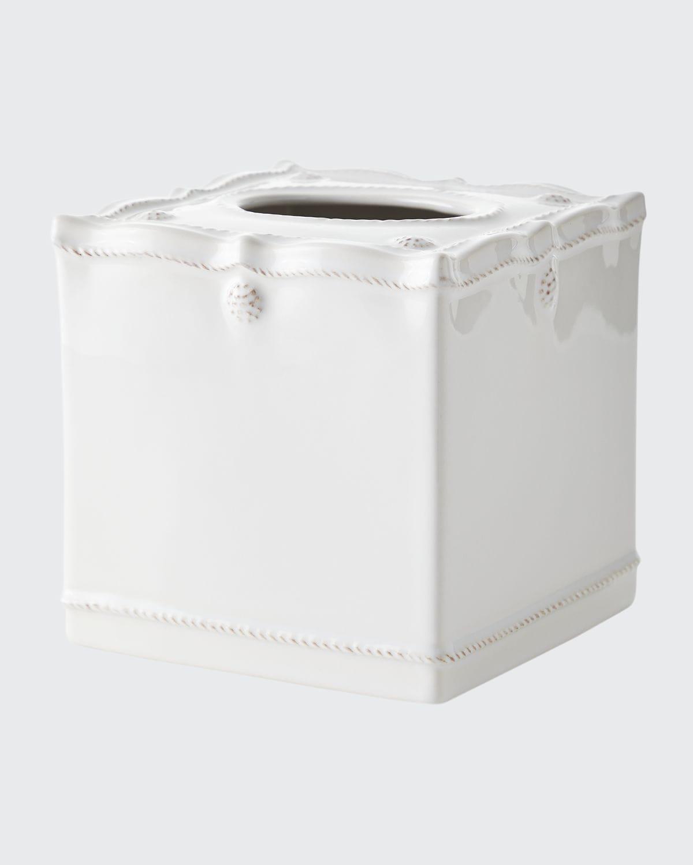 Berry & Thread Whitewash Tissue Box Cover