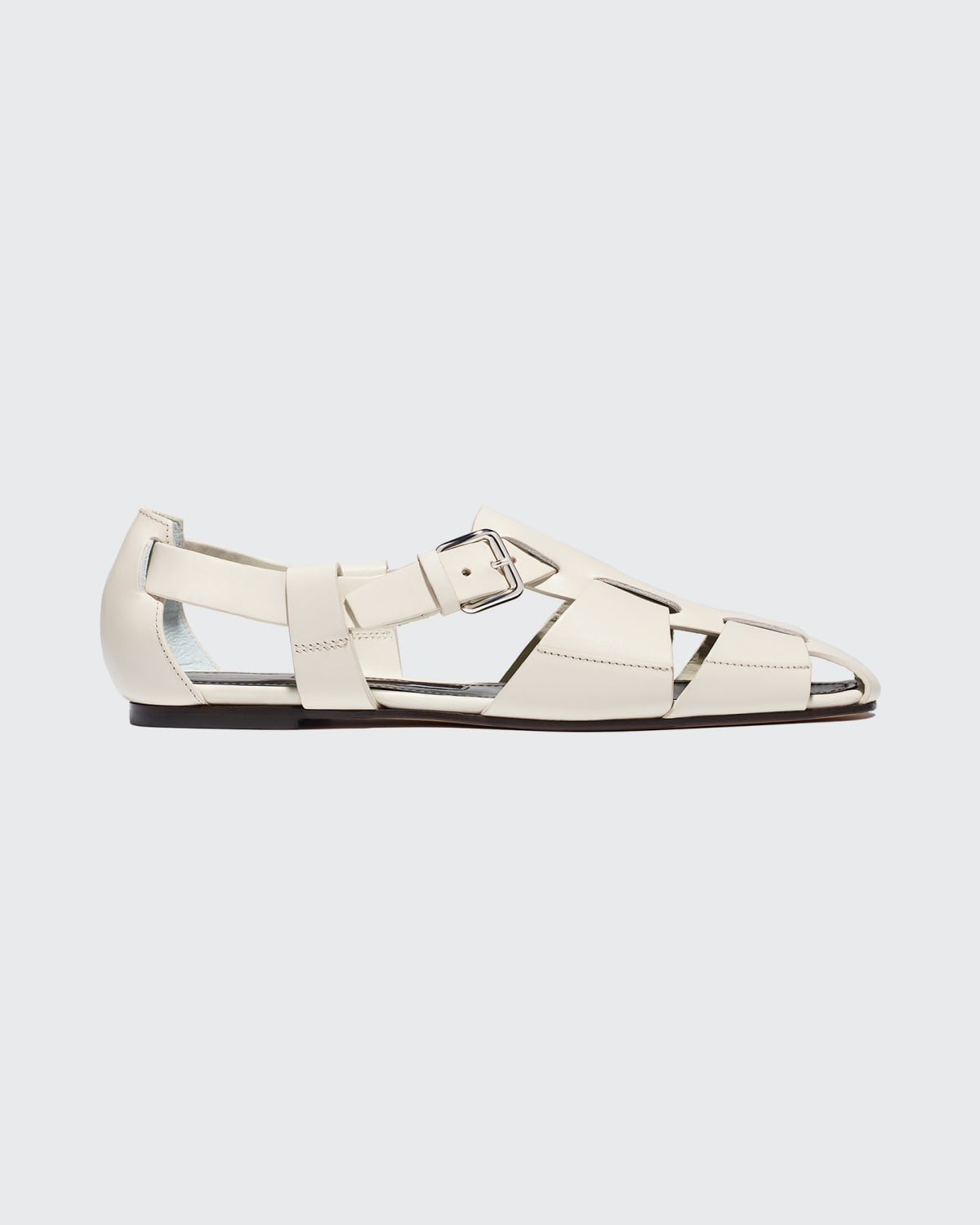 Ernest Woven Leather Sandals