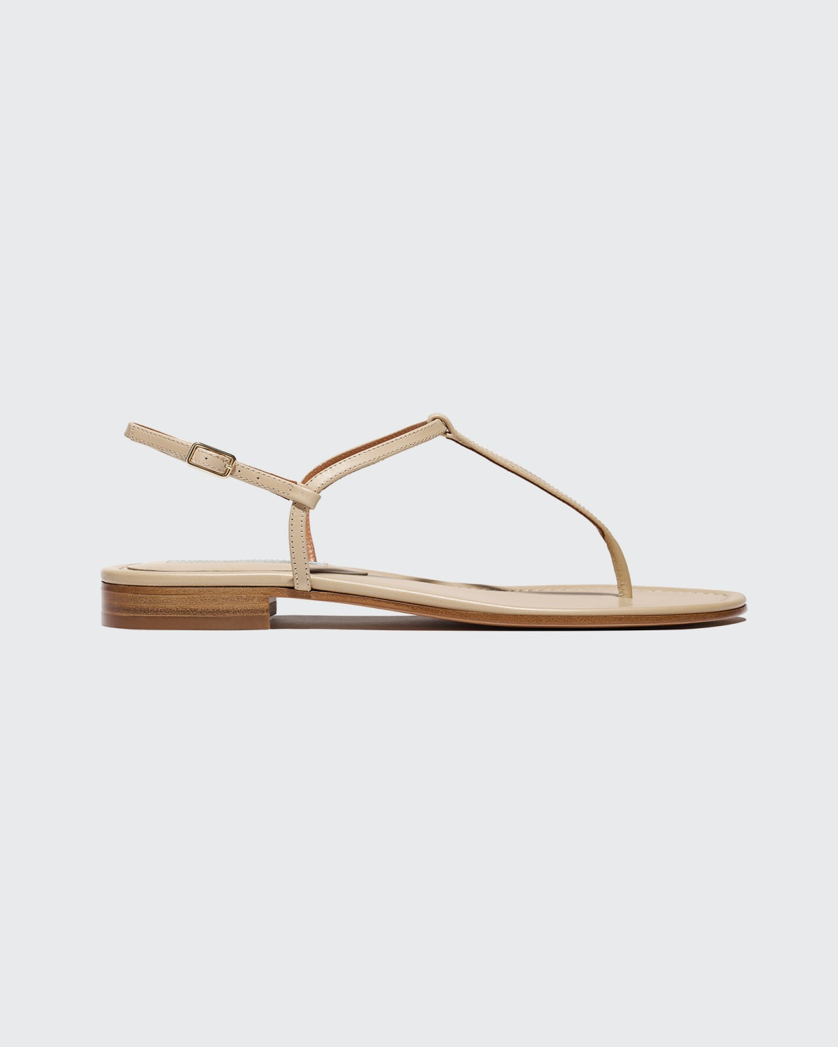 Cecilia Leather Thong Sandals