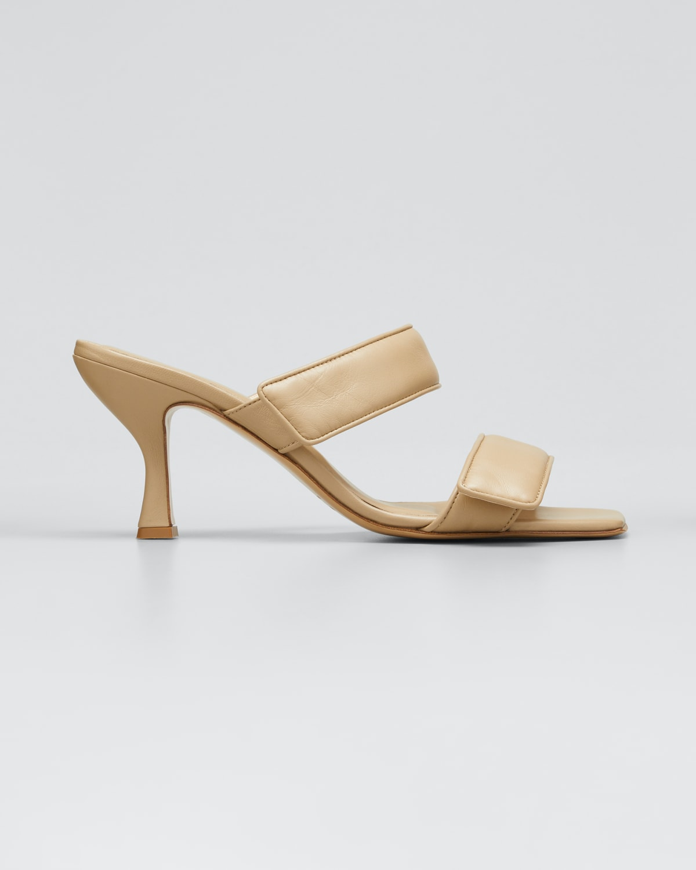 80mm Napa Toe-Ring Slide Sandals
