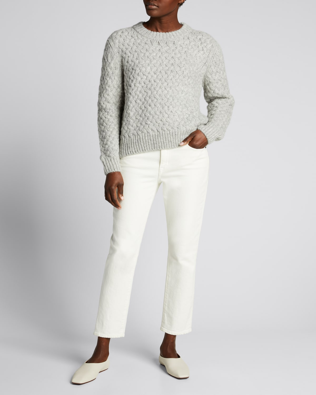 Kiernan Alpaca-Blend Crewneck Sweater